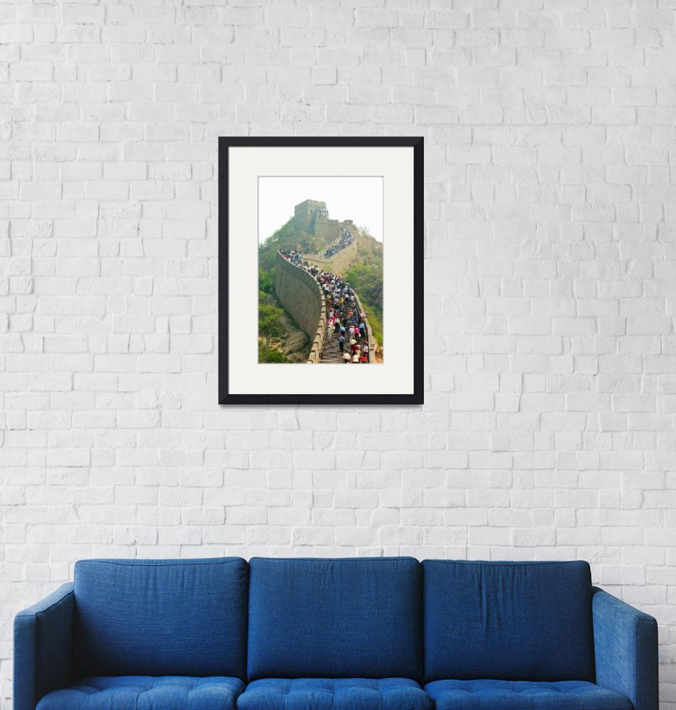 """""""Great Wall of China""""  (2001) by stockphotos"""