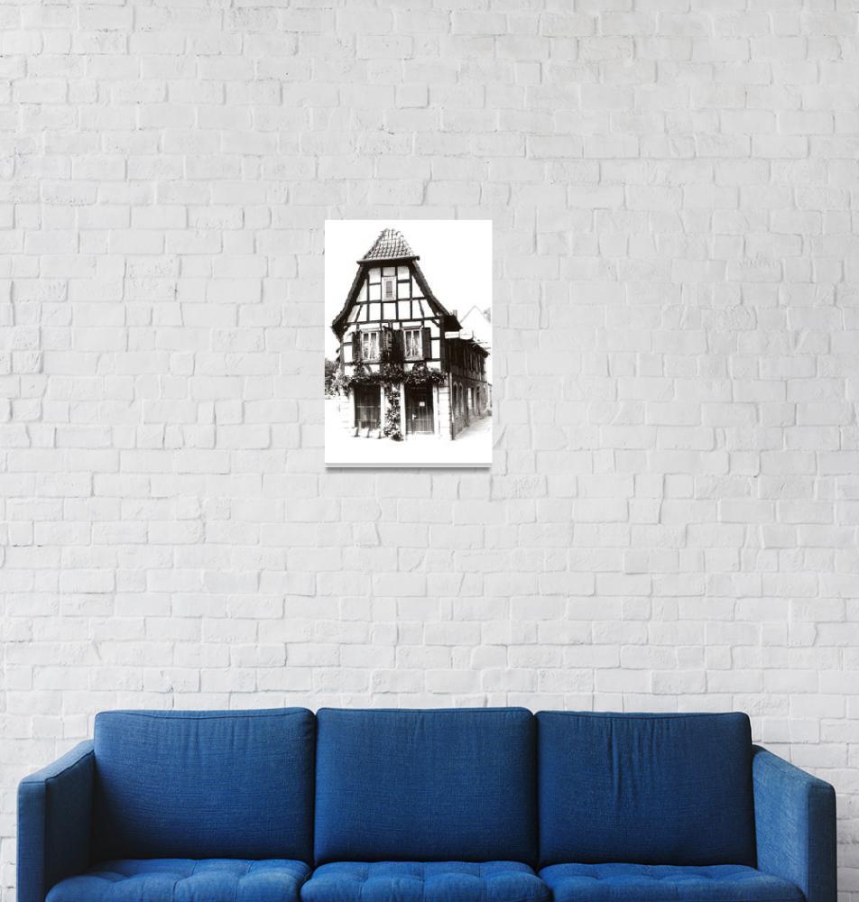 """Old House, Germany""  (2009) by fotosnostock"