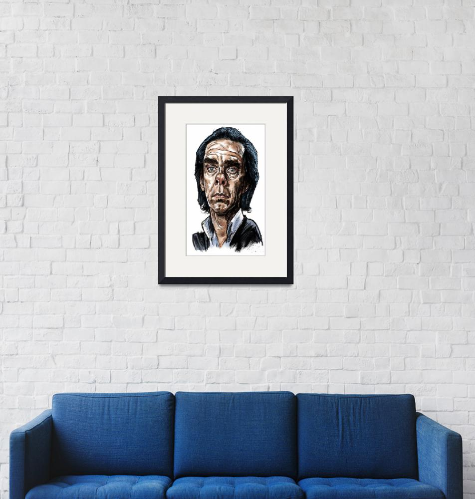 """""""Nick Cave""""  (2014) by tobias1969"""