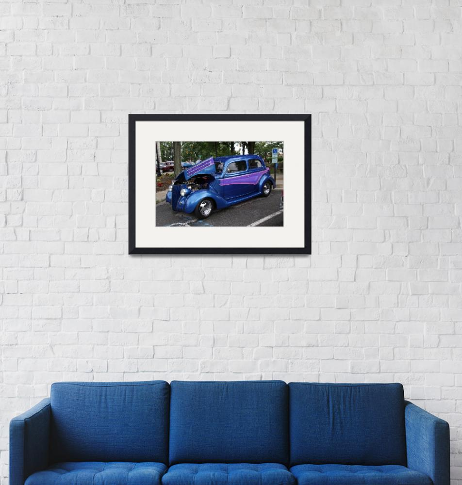 """""""BLUE CAR""""  by raylime1976"""