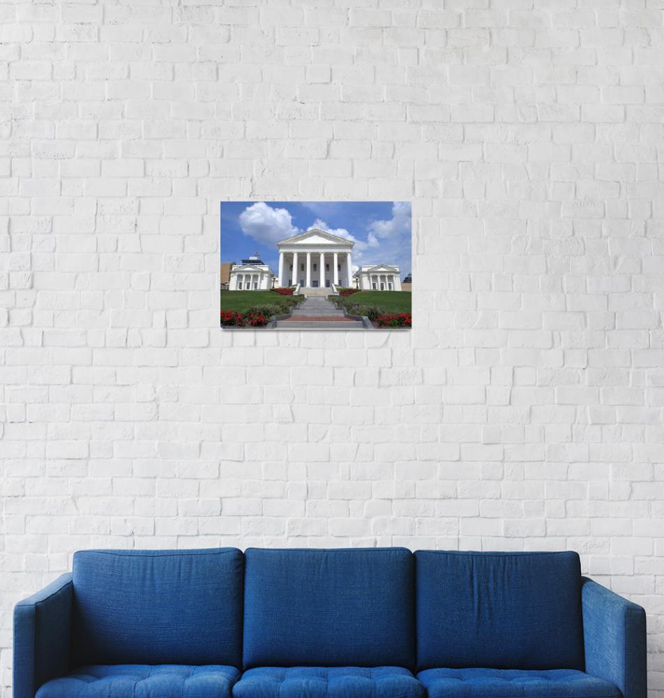 """Virginia State Capital""  (2009) by goatlockerguns"