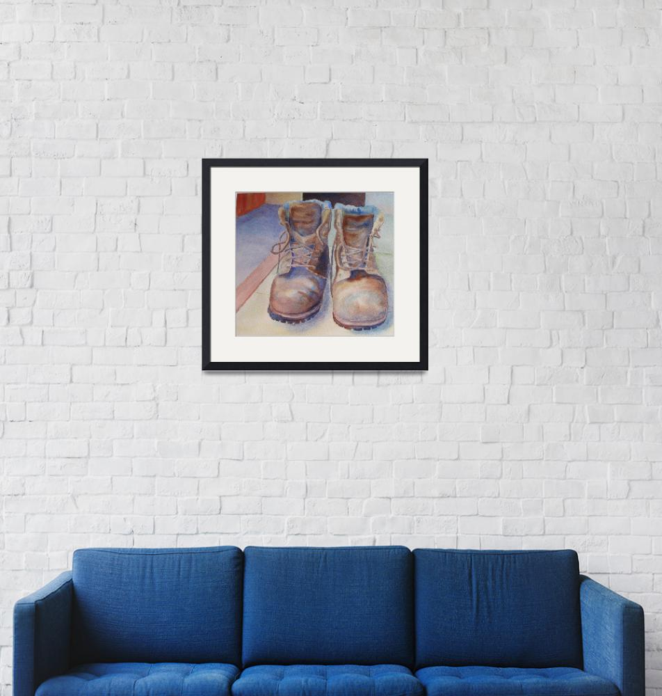 """""""Work Boots""""  (2009) by lindahaile"""
