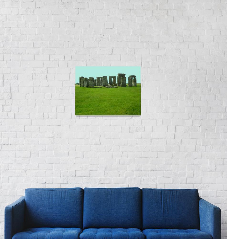 """Stonehenge""  (2014) by joeyartist"