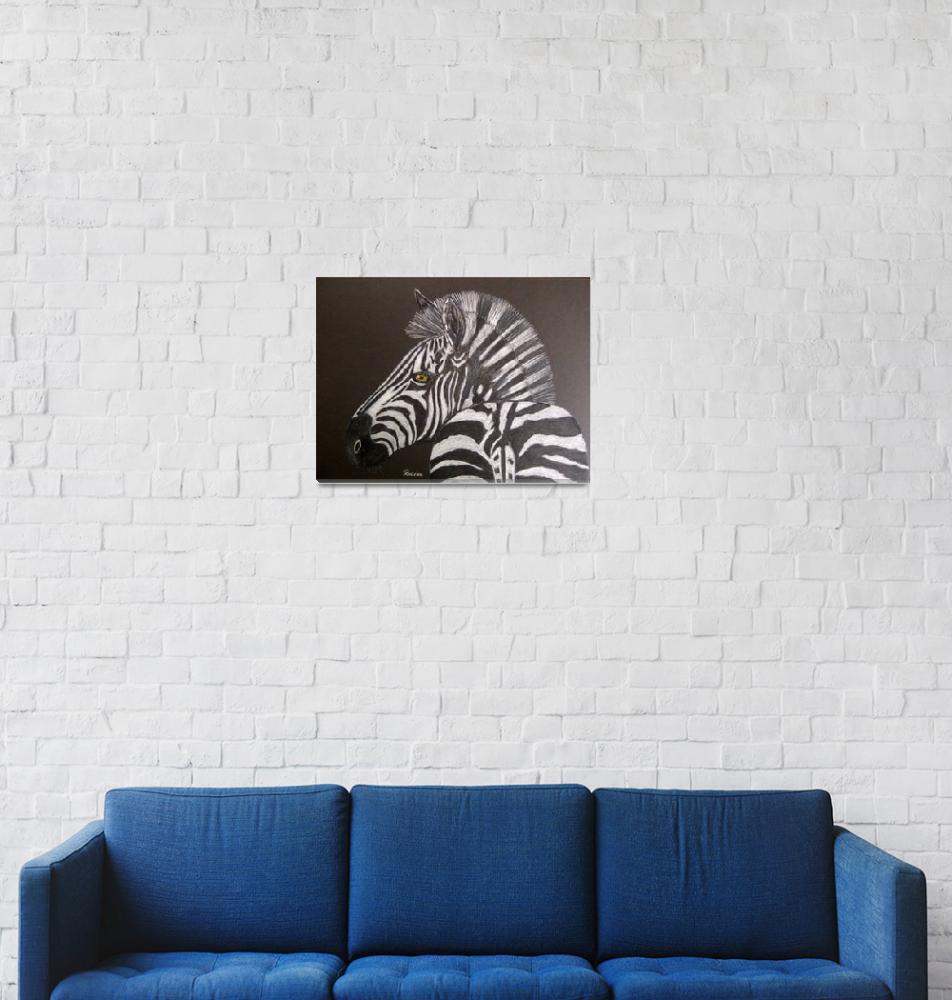 """""""Zebra""""  (2012) by RIANA"""