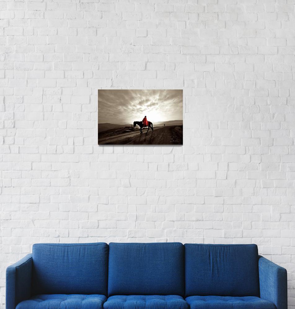 """Maluti Horseman""  (2010) by robinweeks"