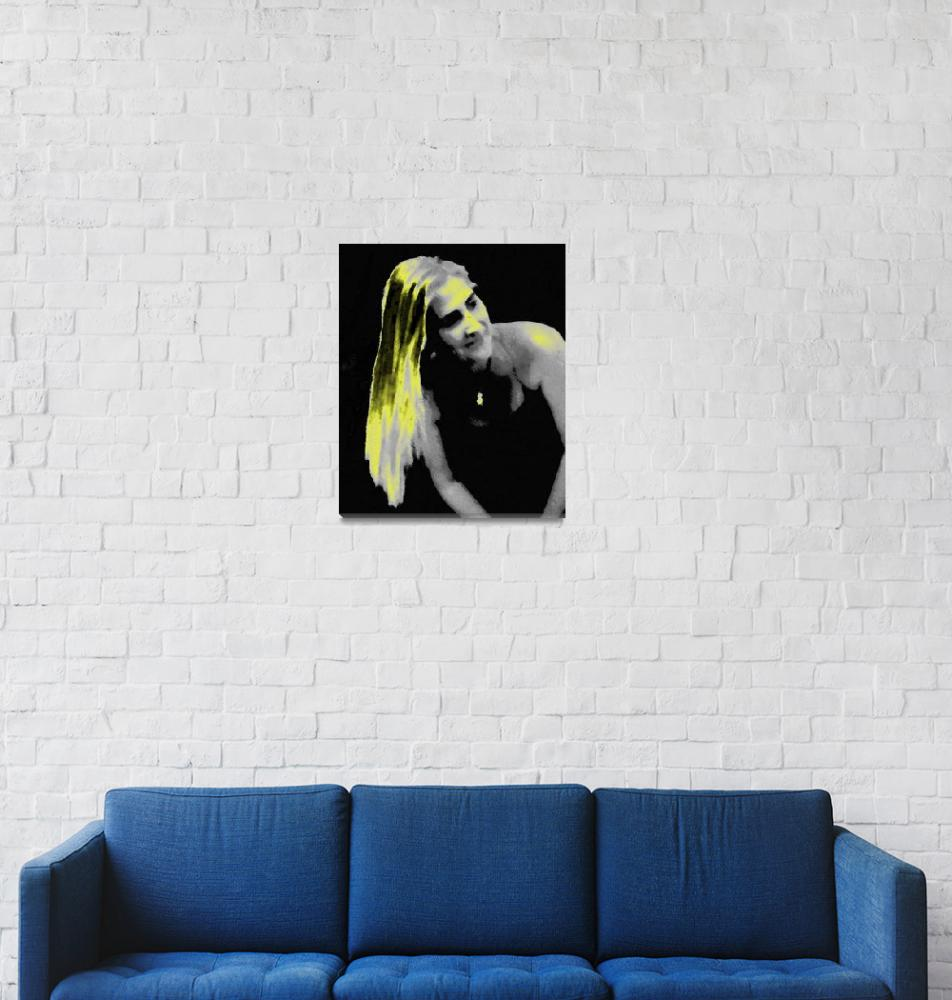"""""""Fantasy on blond hair woman""""  (2011) by terenceharper"""