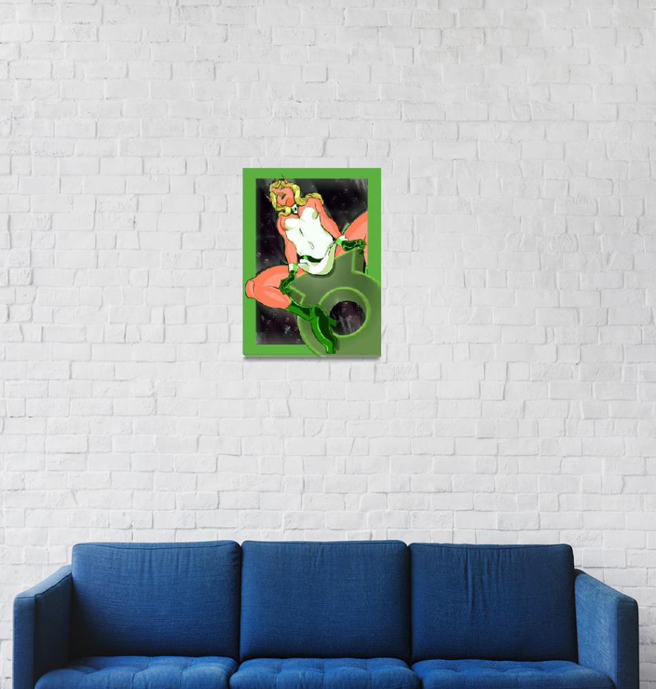 """Green Lantern Arisia""  (2013) by conformitybites"