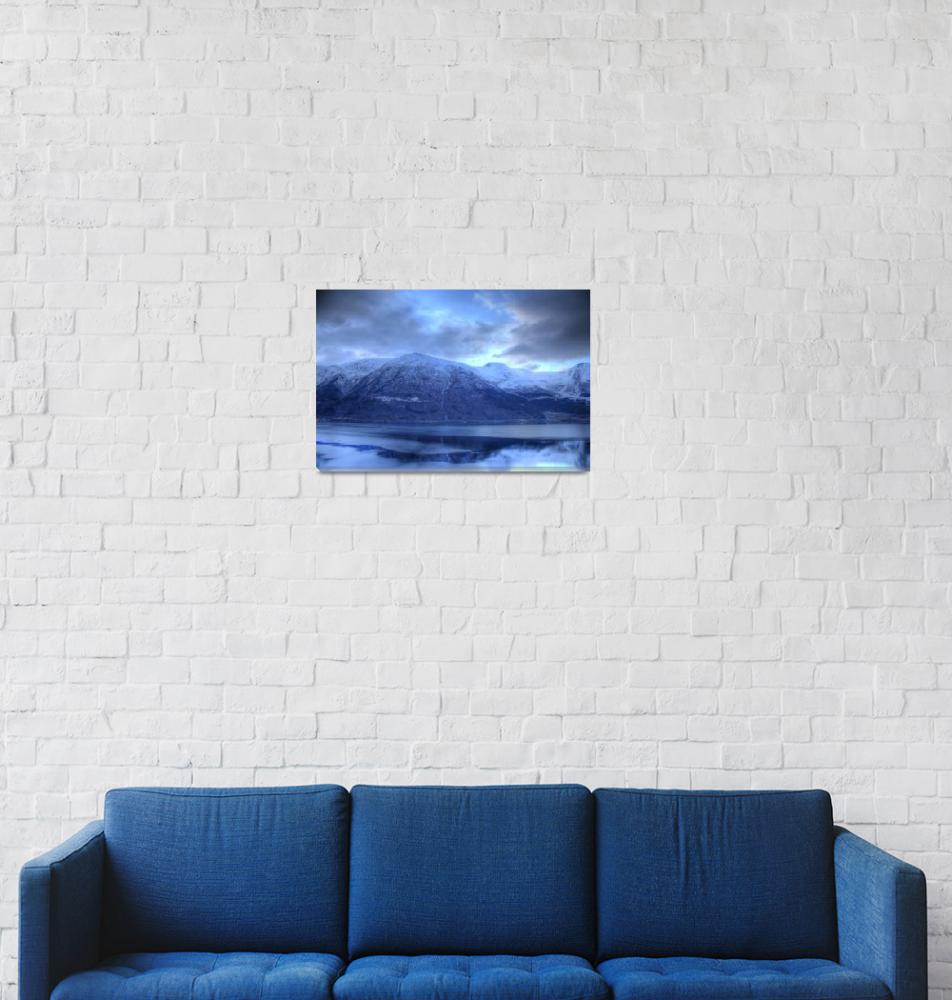 """Sørfjorden""  (2008) by BjornHB"