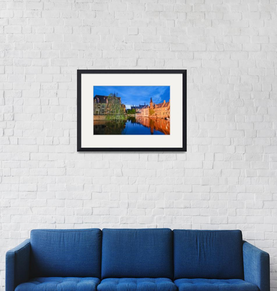 """""""Evening in Brugge""""  (2009) by linask"""