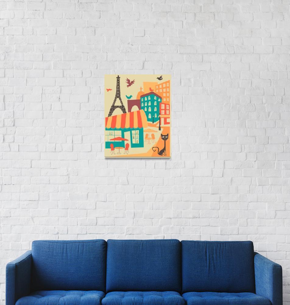"""Paris Cafe""  by JazzberryBlue"