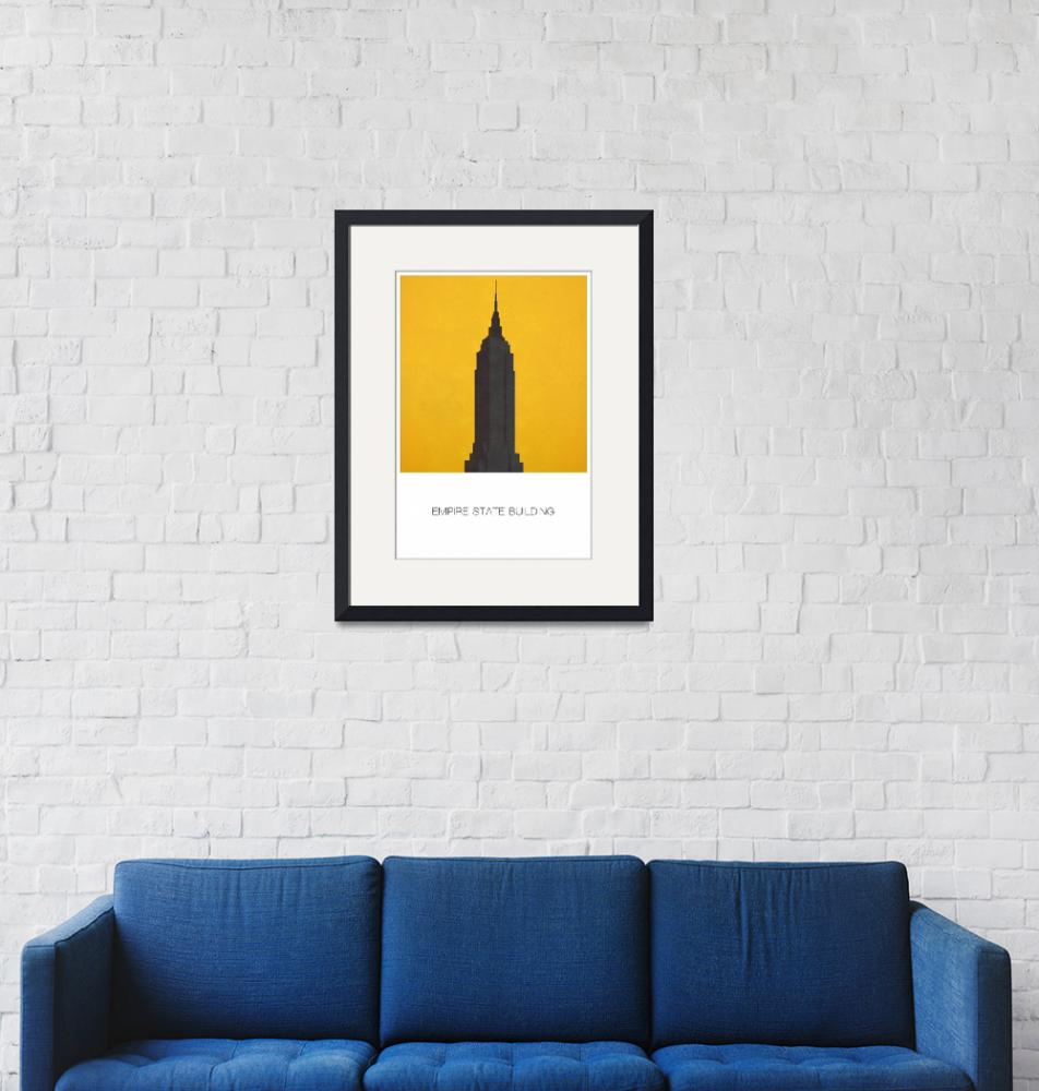 """""""Empire State Building w""""  (2012) by javinabar"""