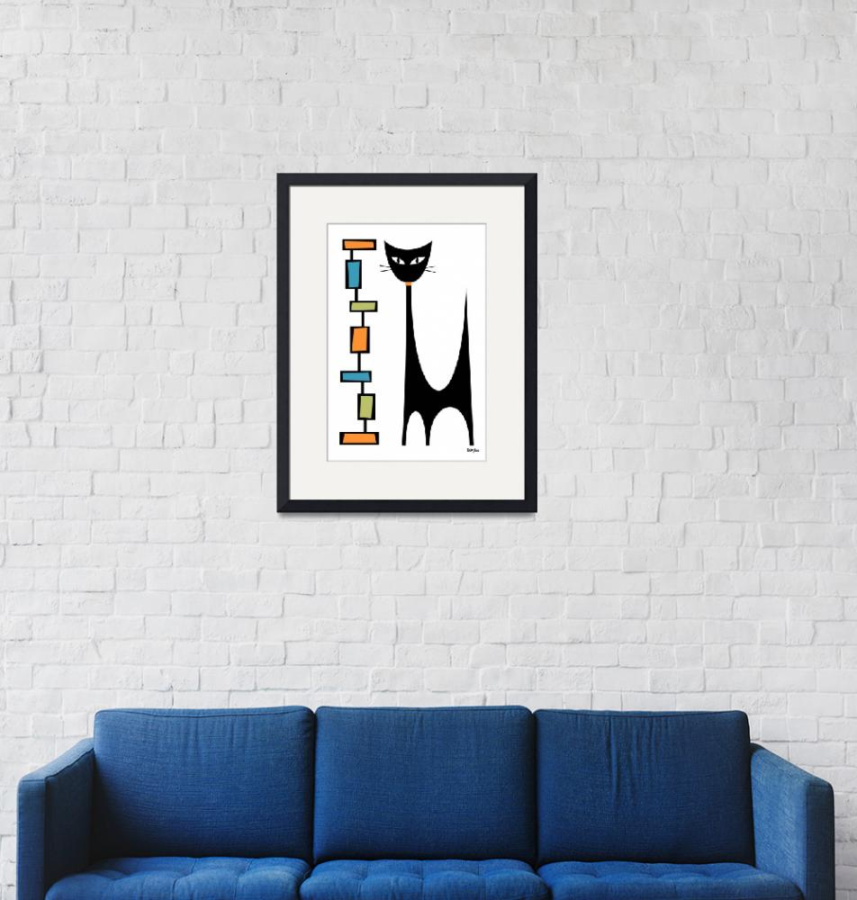"""""""Rectangle Cat""""  by DMibus"""