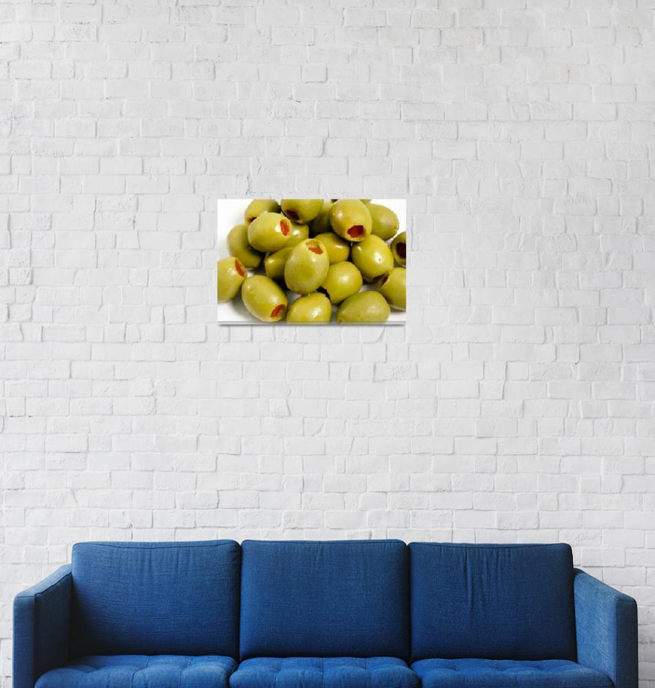 """Green olives""  (2007) by gavila"