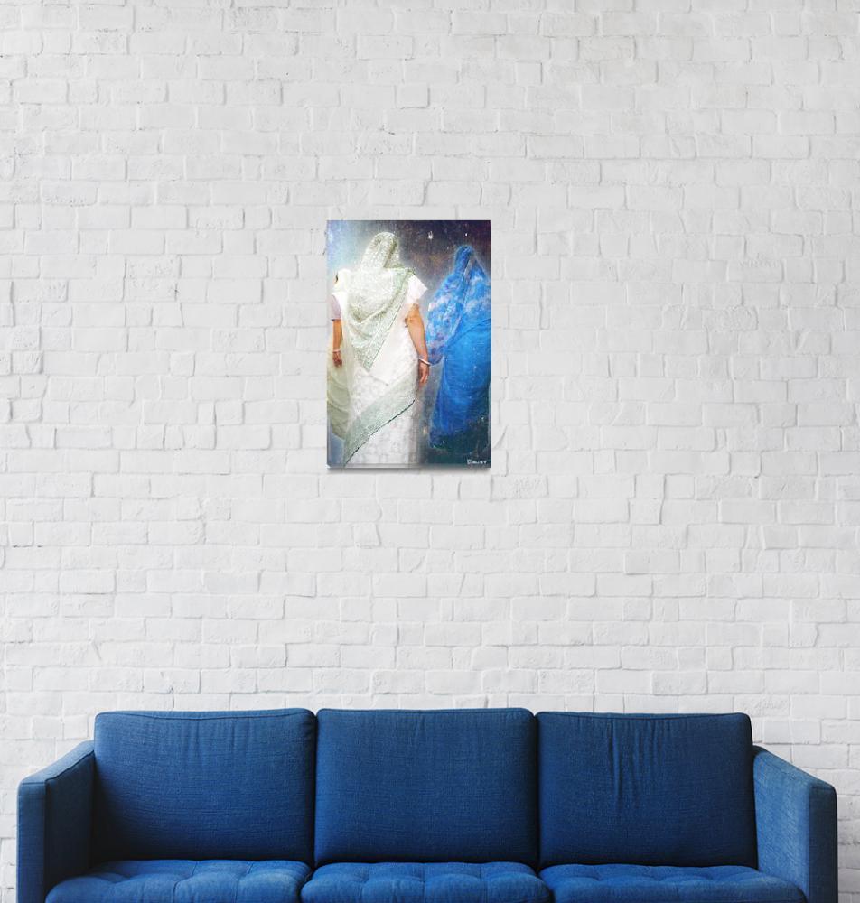 """""""In blue""""  (2009) by jullyet"""