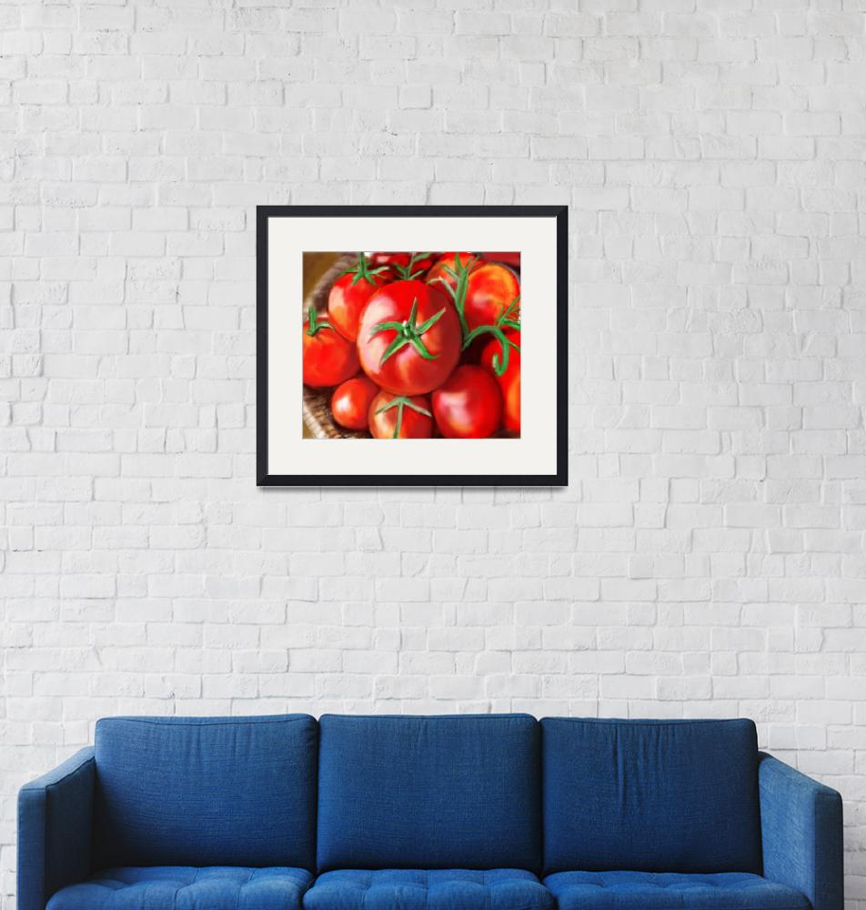 """The Tomato Basket""  (2014) by lincolnhowes"