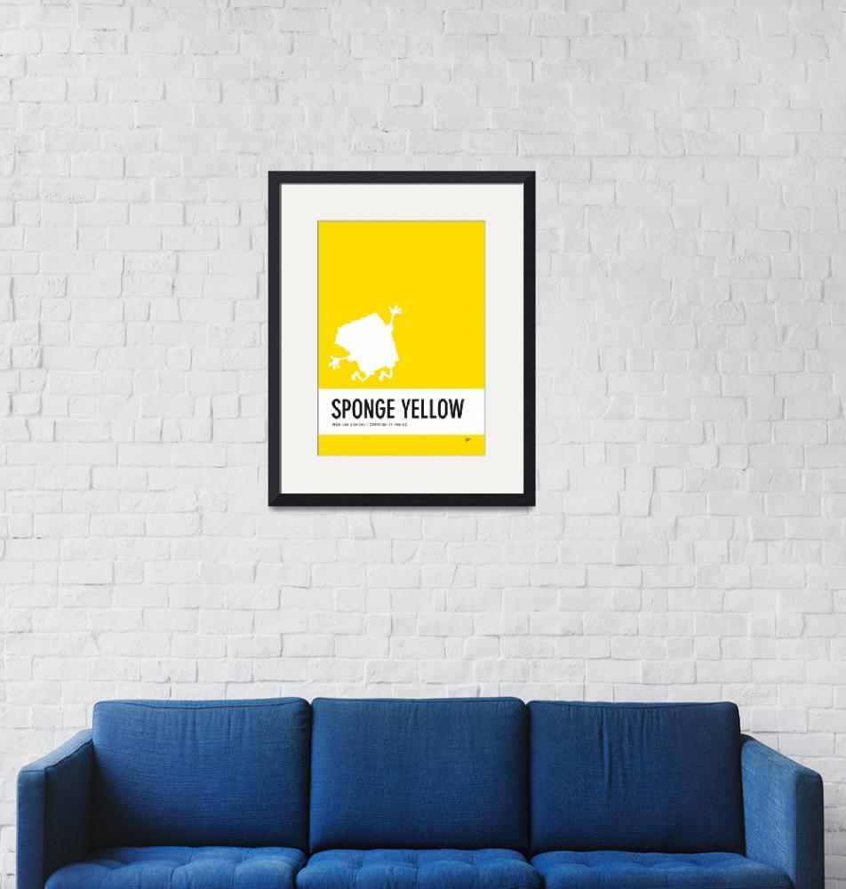 """No10 My Minimal Color Code poster Spongebob""  by Chungkong"