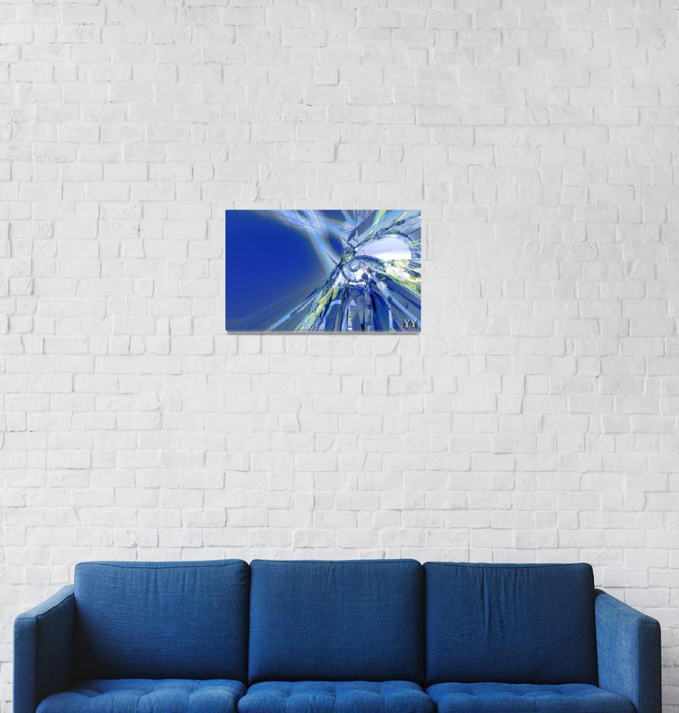 """""""Blue ray""""  (2012) by yuryf"""