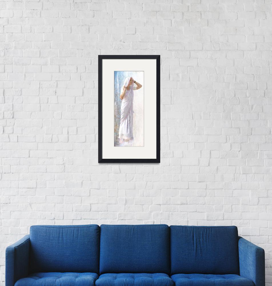 """""""In white and blue""""  (2009) by jullyet"""