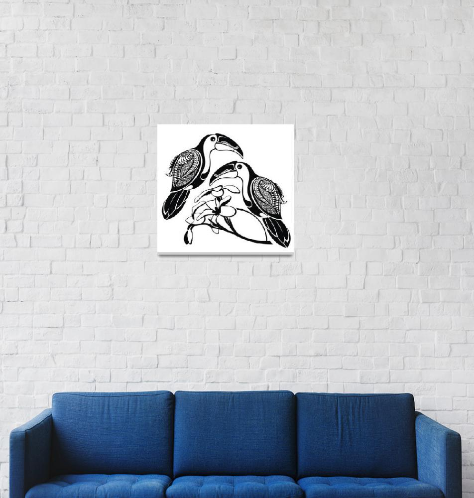 """631 Art Drawing Framed Print""  by buddakats1"