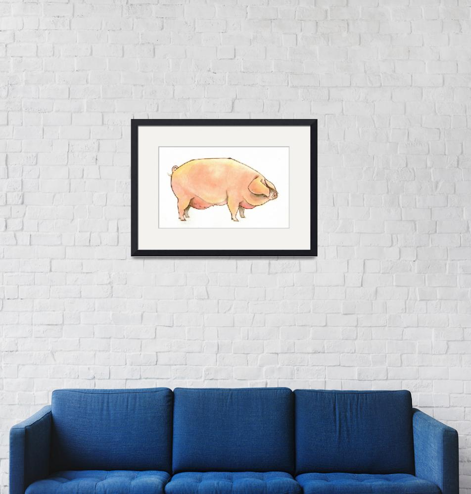 """pig""  (2012) by jessgolden"