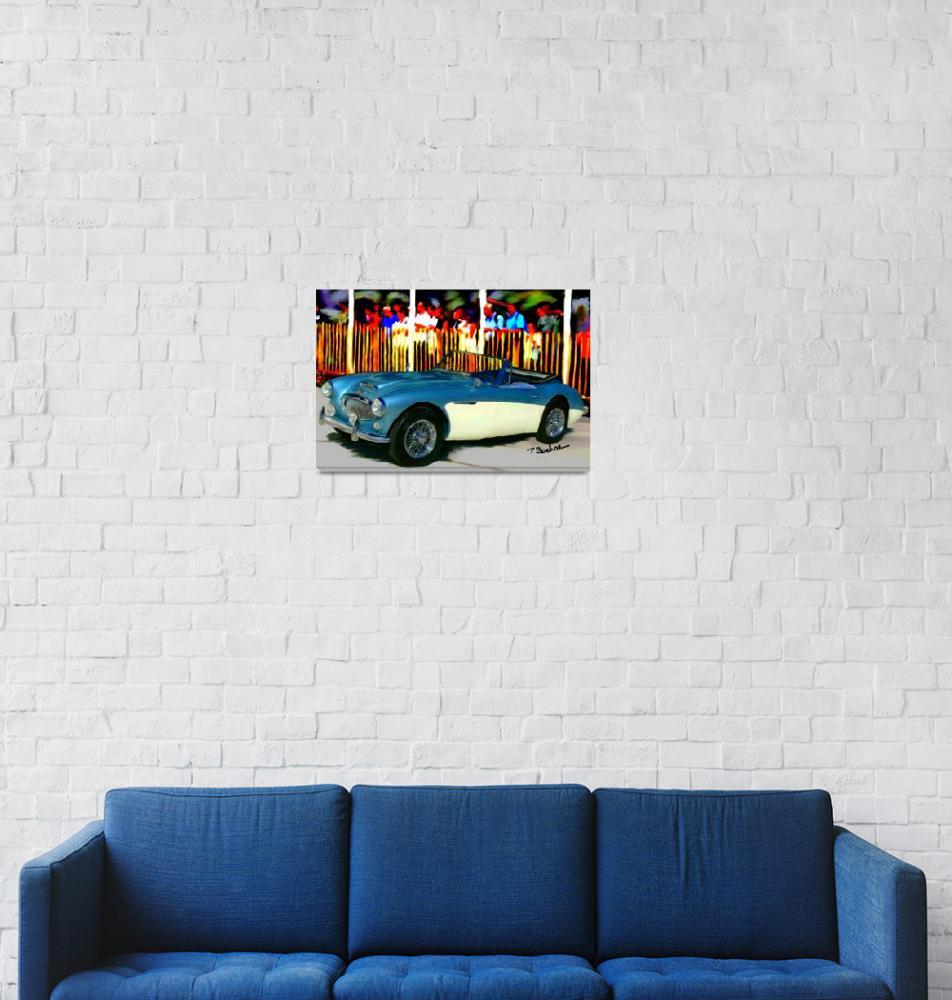 """1966 Austin Healy 3000""  (2005) by ArtbySachse"