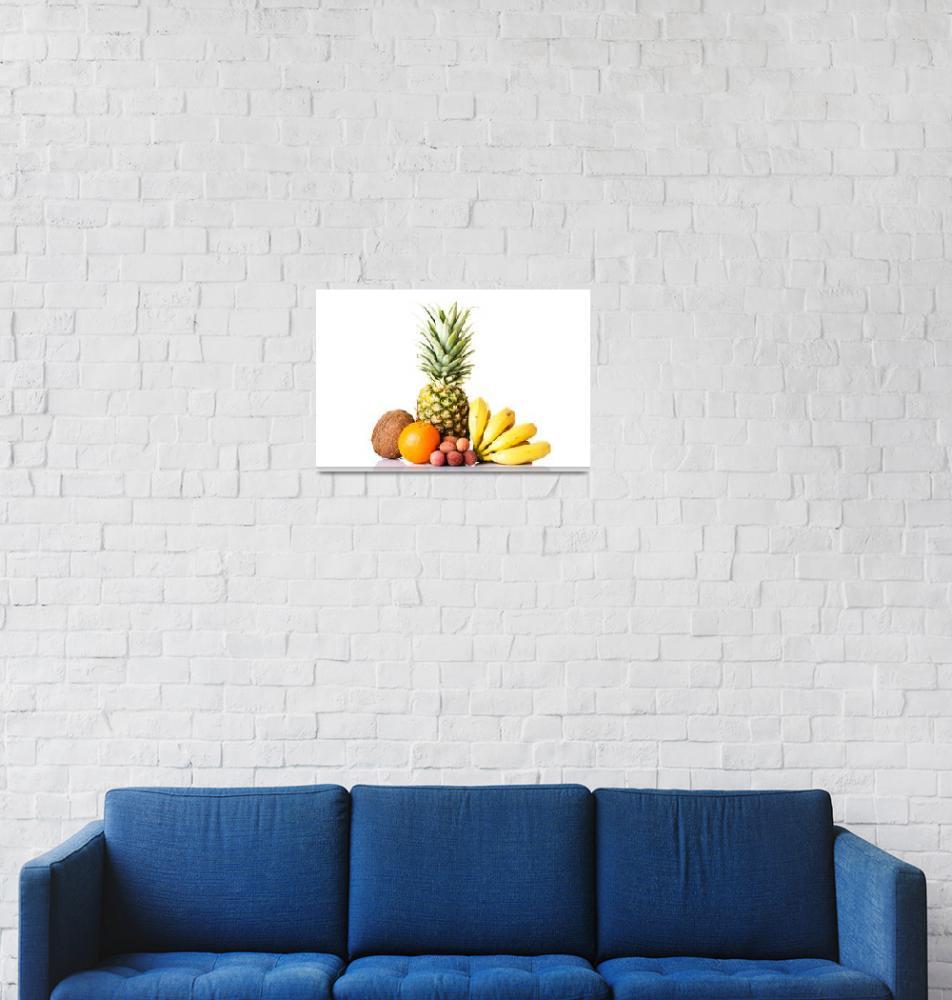 """Exotic tropical  fruits""  by Piotr_Marcinski"