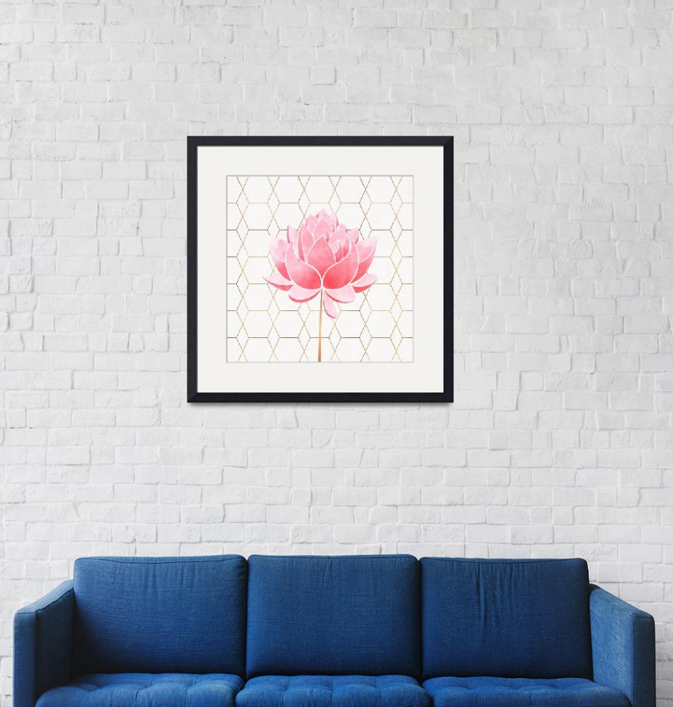 """""""Lotus Blossom""""  (2018) by moderntropical"""