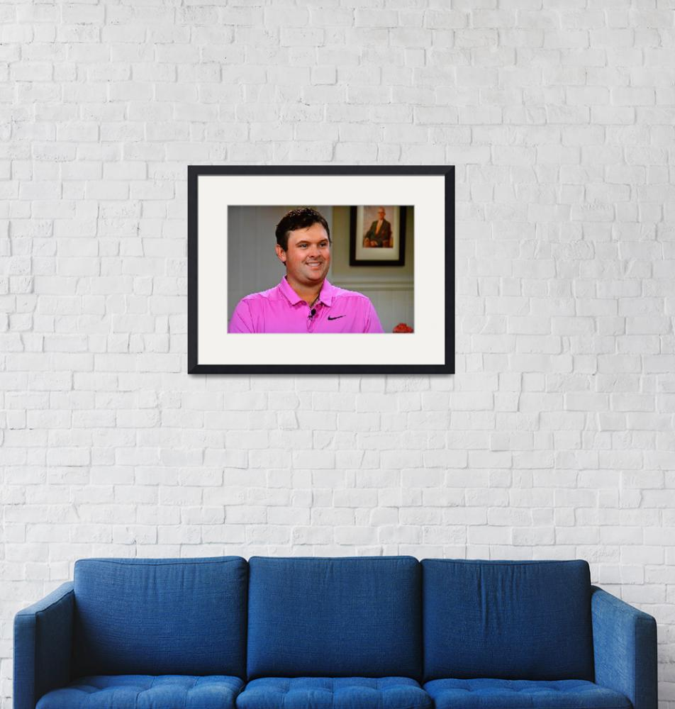 """""""Masters Champion Patrick Reed"""" (2018) by ajc401"""