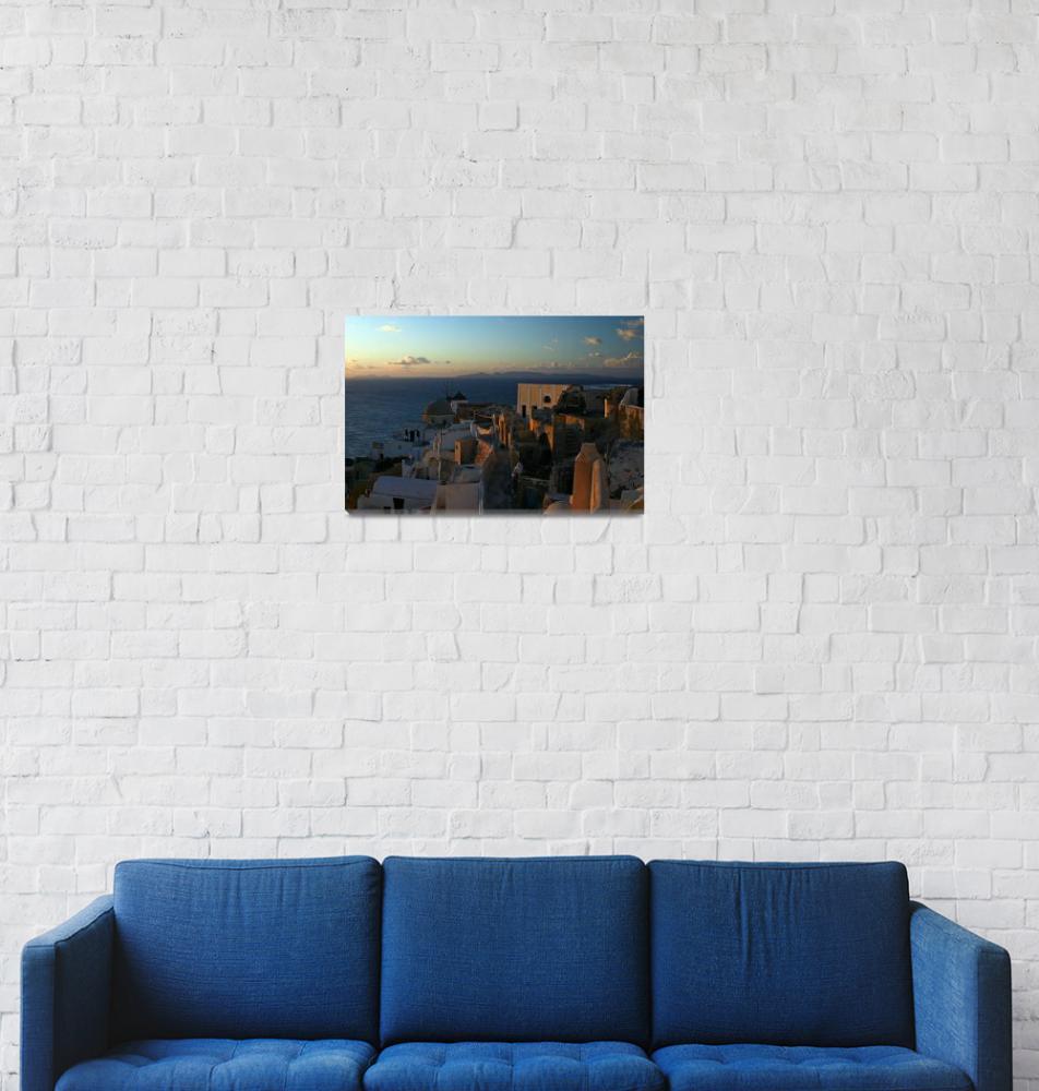 """Santorini view""  by PoiSoN"