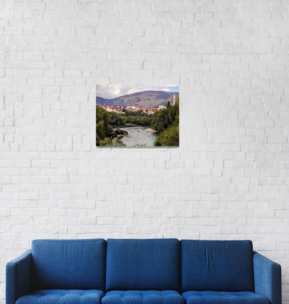 """Mostar""  (2016) by cybergypsie"