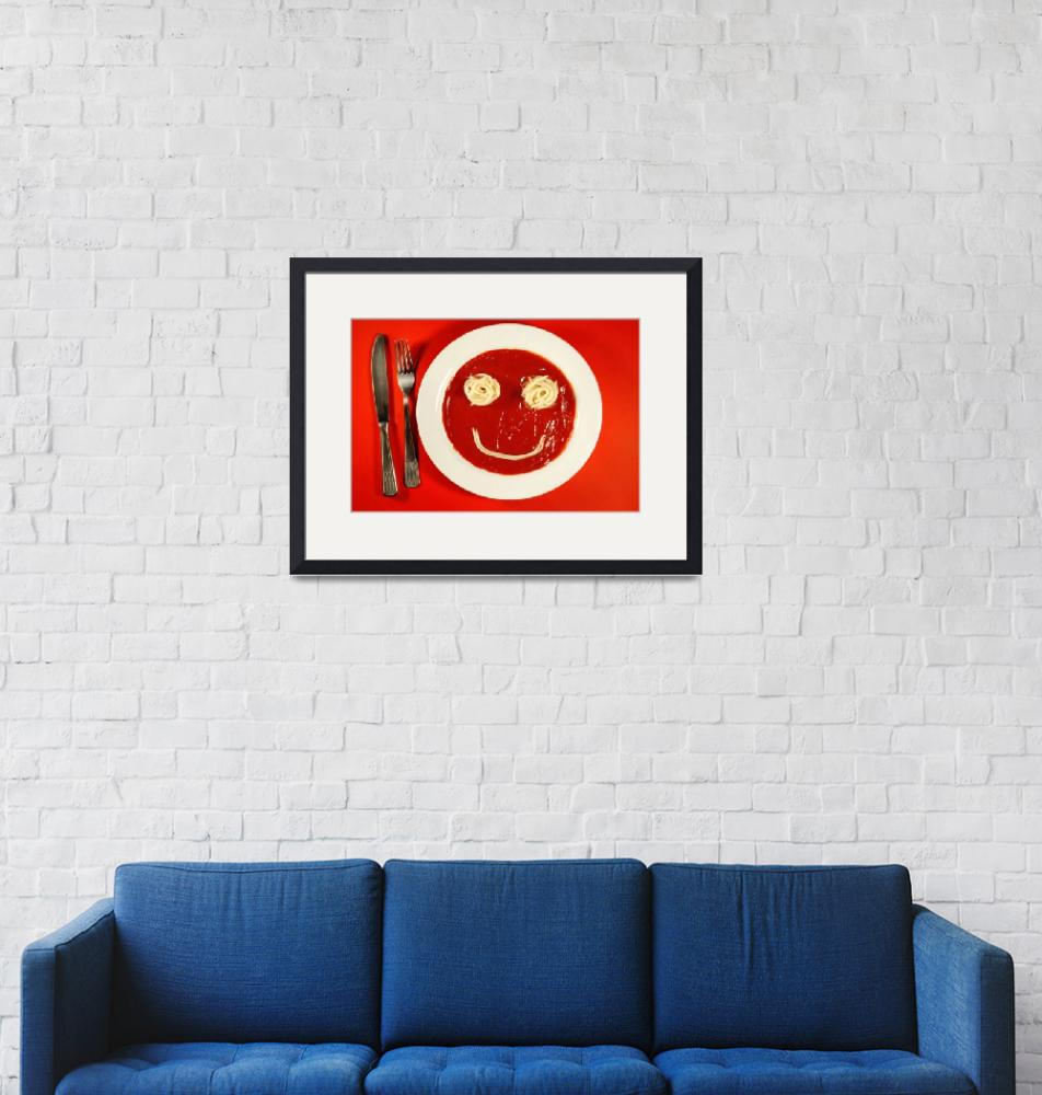 """""""smiley ketchup""""  (2011) by ale_flamy"""