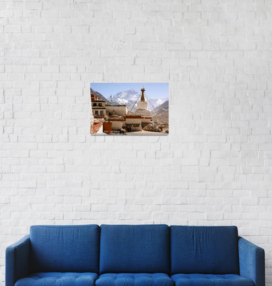 """Mount Everest""  (2007) by Iristence"