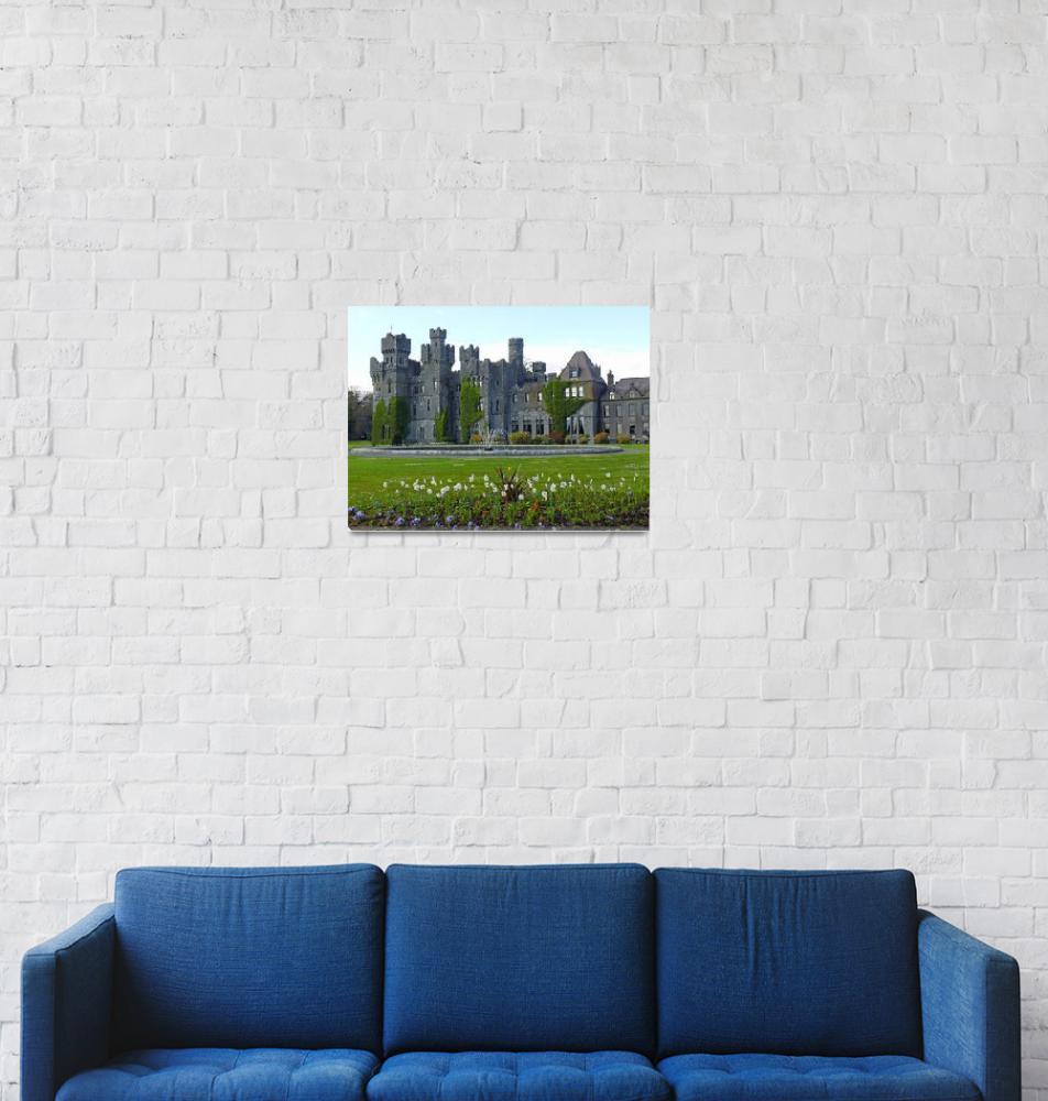 """Ashford Castle, County Mayo, Ireland""  (2008) by stockphotos"