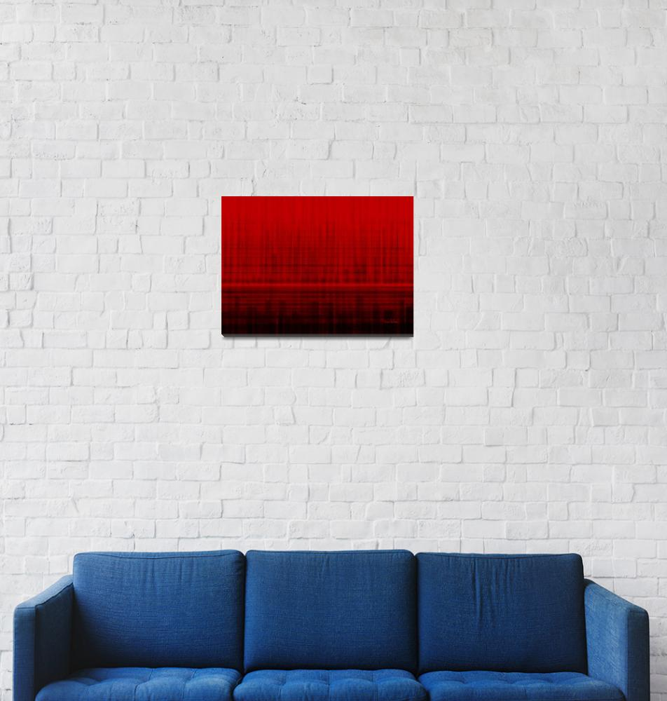 """""""Variation of red 5""""  (2014) by kukla"""
