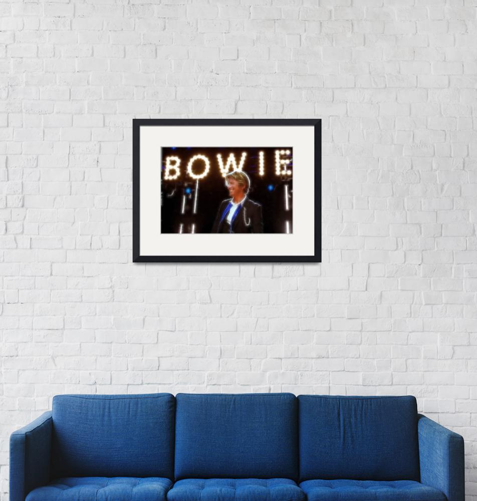 """David Bowie""  (2014) by BritishYank"