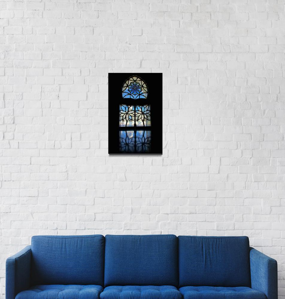 """Mosque Foyer Window 2""  (2010) by Markomarko"