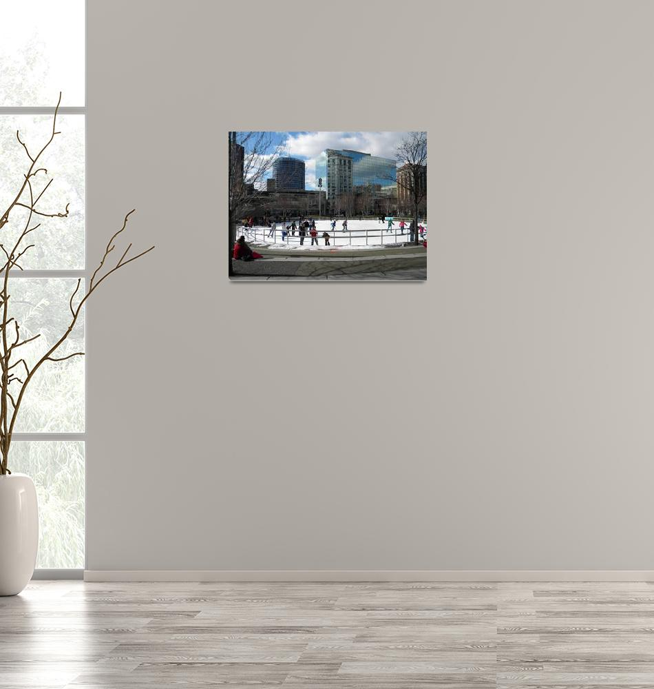 """Rosa Parks Circle""  (2013) by scenearoundtownbyDebbie"