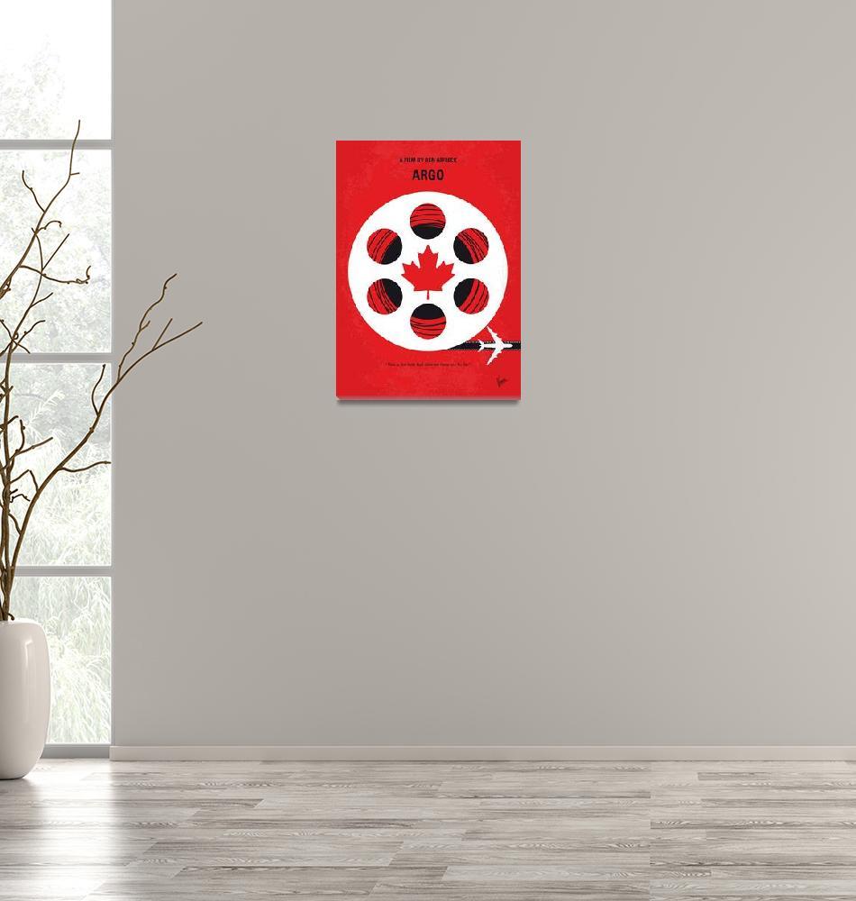 """No606 My Argo minimal movie poster""  by Chungkong"
