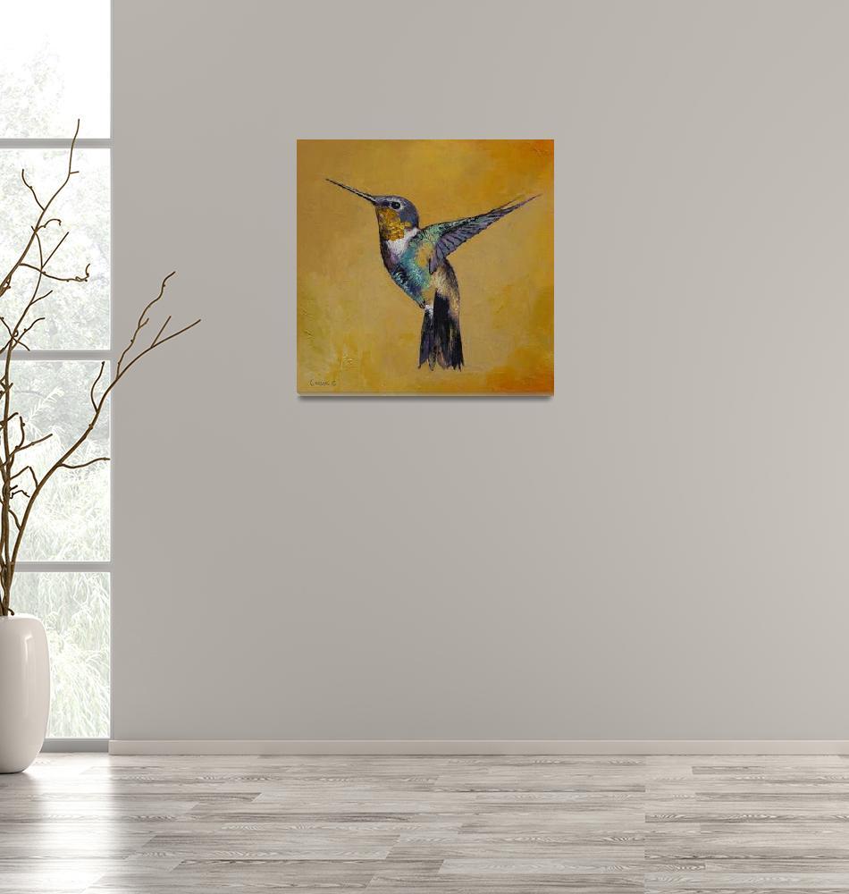 """Hummingbird""  by creese"