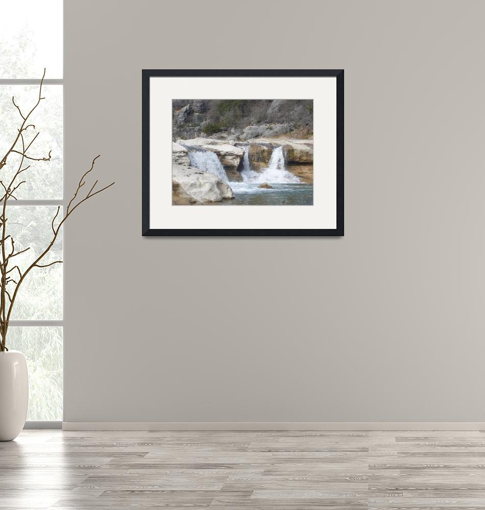 """""""The Falls at Pedernales""""  by shutterbugs"""