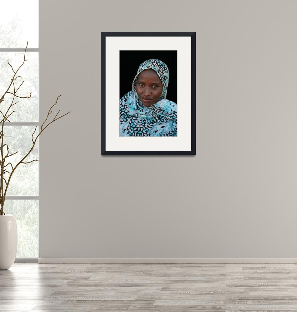 """""""Mauritanian Woman 3""""  (2009) by AndreaMoorePhotography"""