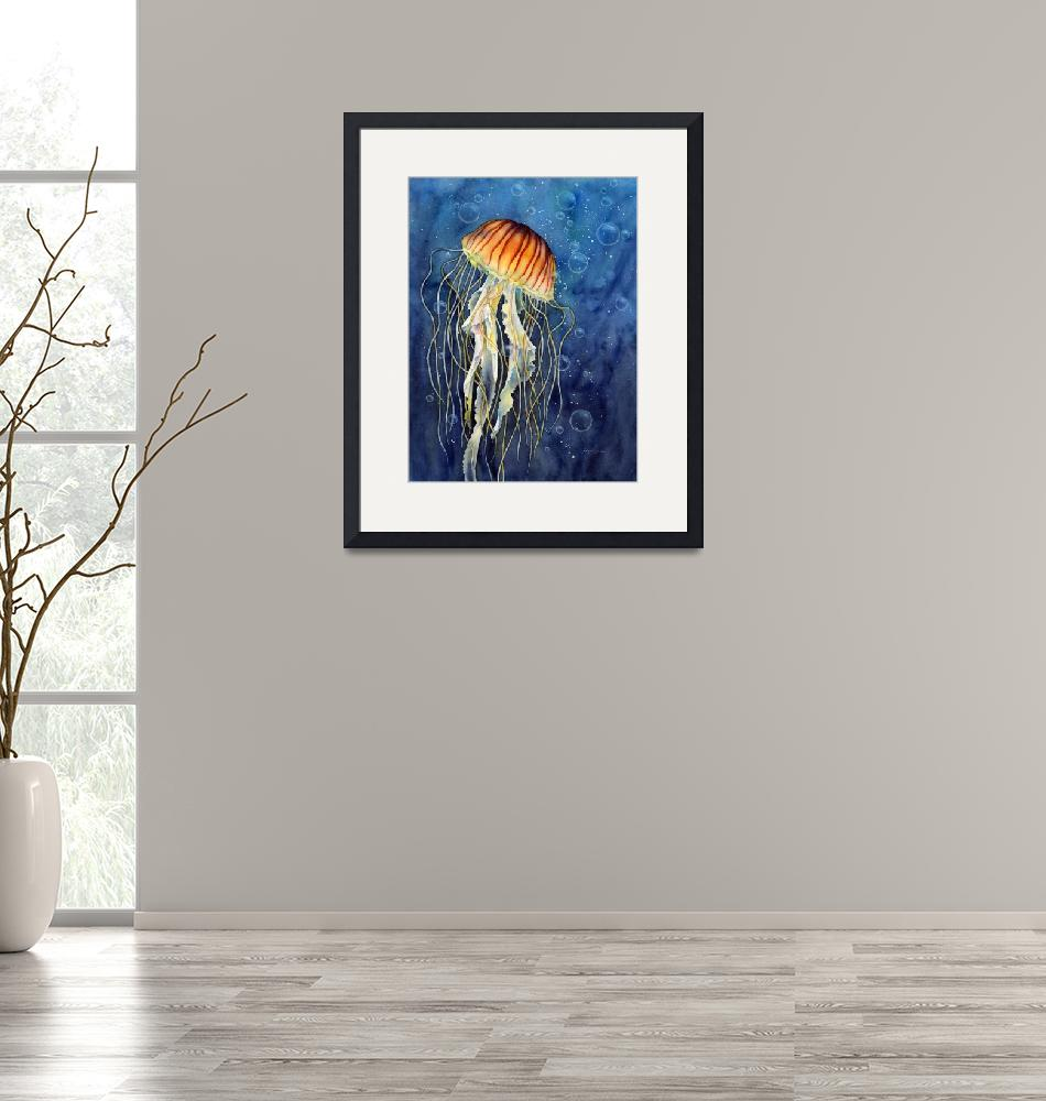 """Jellyfish""  (2015) by HaileyWatermedia"