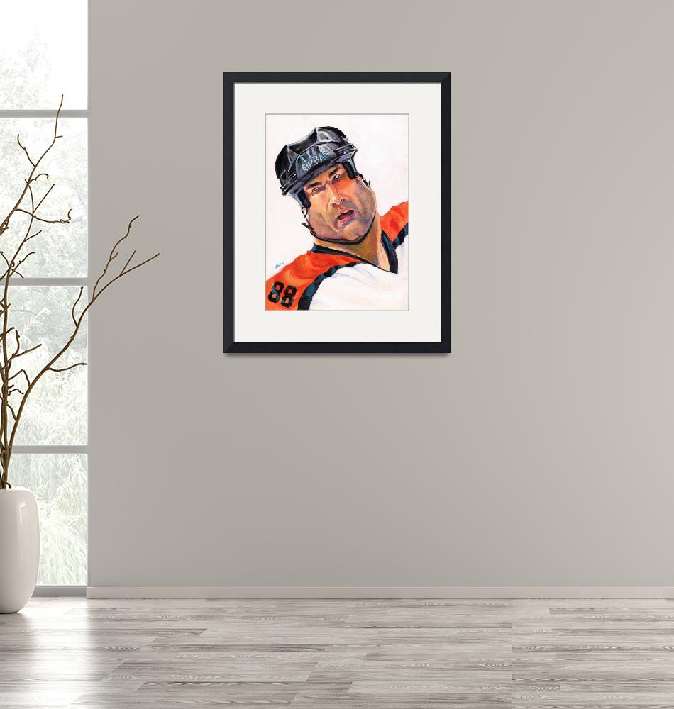 """""""Eric Lindros""""  by odea"""