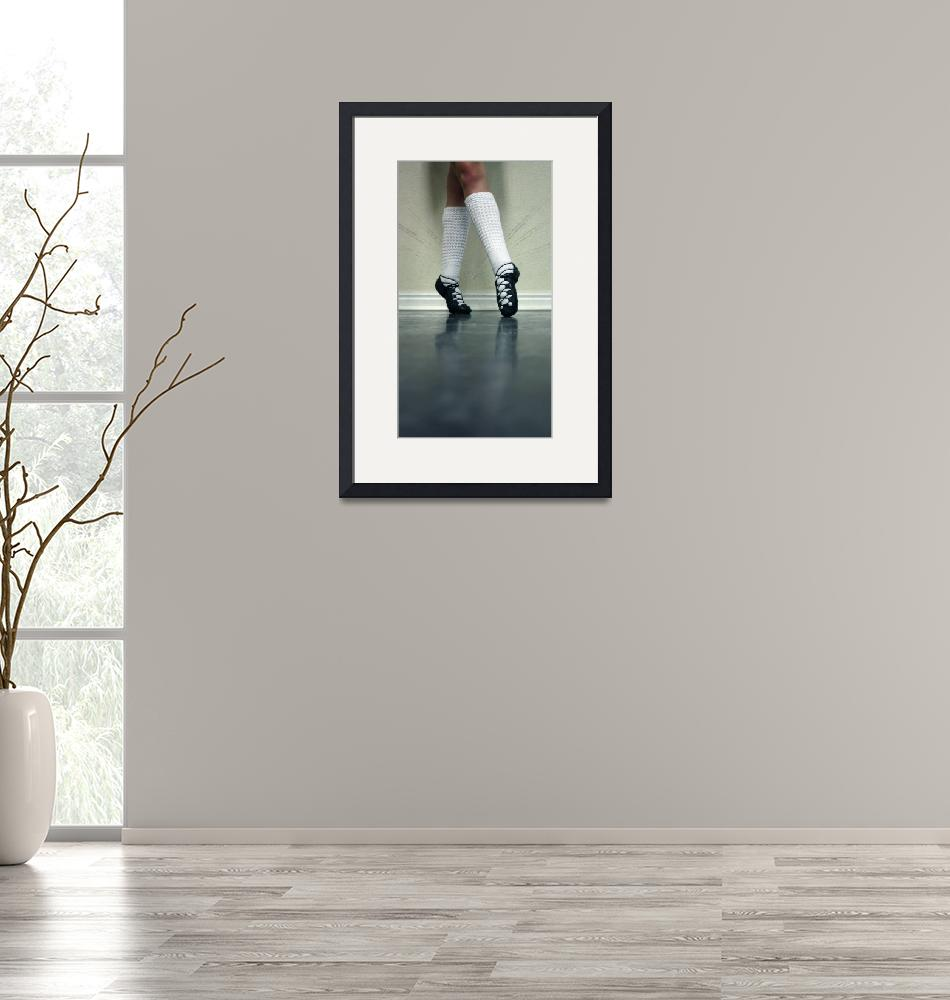 """Irish Dance Ghillies Point""  (2009) by ShellyHathaway"