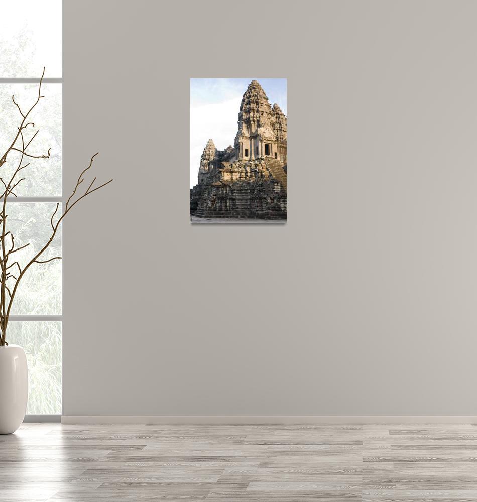 """""""At Angkor Wat""""  (2008) by nydavid1"""