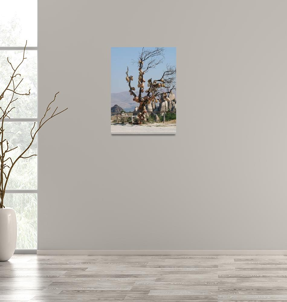 """""""Turkish Pottery Tree""""  (2009) by raftergood"""
