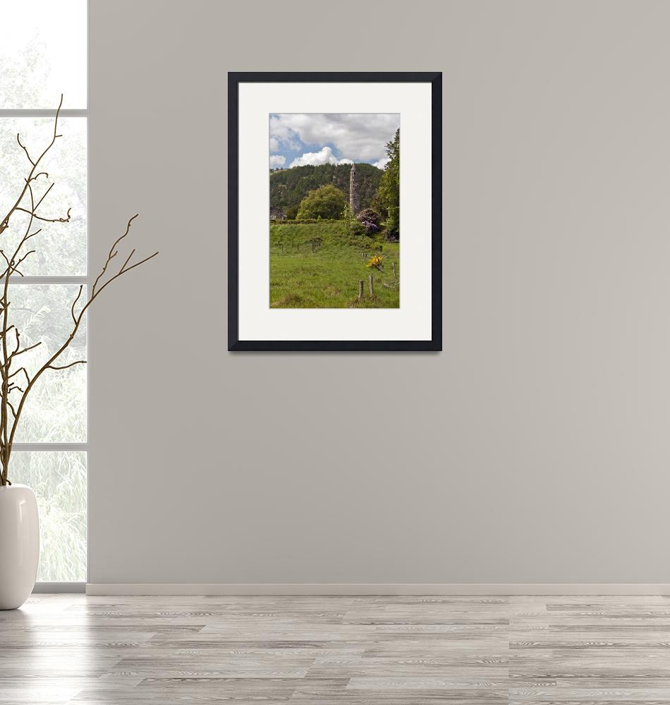 """""""The Cloigtheach of Glendalough""""  (2014) by MichaelStephenWills"""