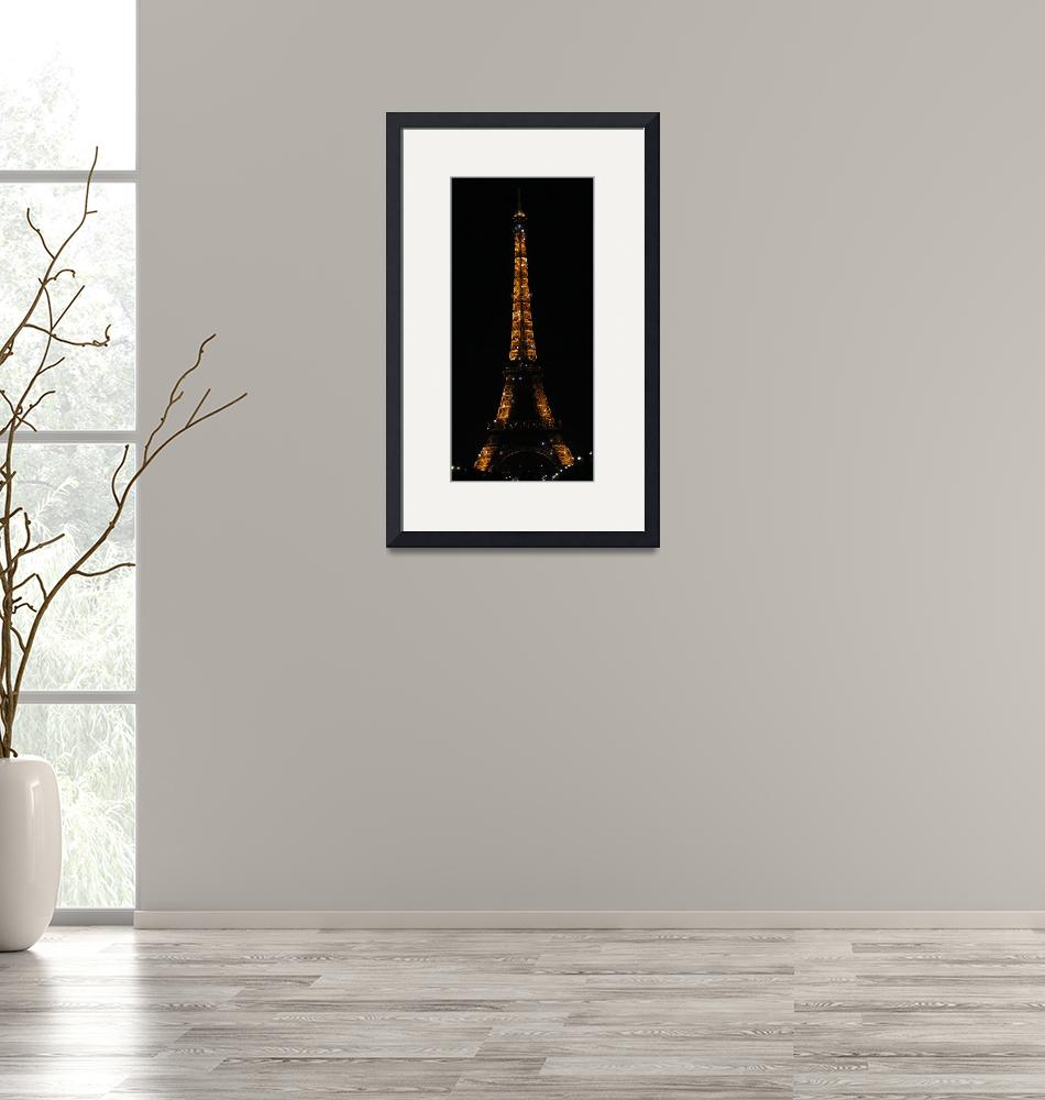 """""""Sparkle Eiffel Tower""""  (2009) by hudsons_photography"""