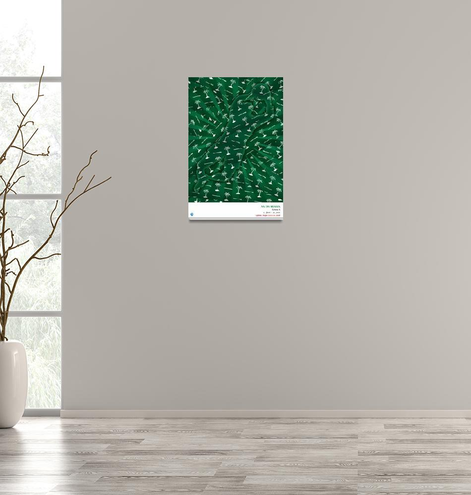 """The Saudi Arabia Poster""  (2018) by cleansheetco"