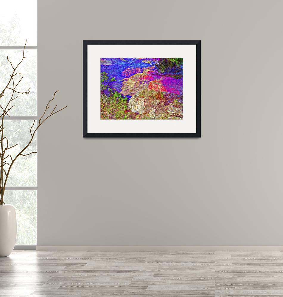 """""""Grand Canyon Art 8""""  (2015) by positivebusinessdesigns"""
